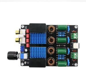 Image 2 - Dc 12v 24 12vハイファイTPA3116トップレベルのデジタル電力オーディオアンプボード100ワット * 2 2チャンネル高電力オーディオアンプボード