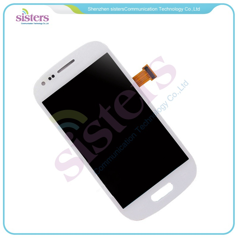 10Pcs wholesale Black/White LCD Screen Display with Digitizer Assembly For Samsung Galaxy S3 Mini i8190 Free Shipping