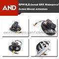 Envío libre Por Satélite GPS Antena Activa Externa Compacta tornillo de Montaje A Prueba de Agua, accesorios gps
