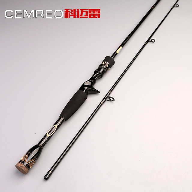 Cemreo fishing rod spinning and casting bass fishing baitcasting rod jigging rod for trolling fishing