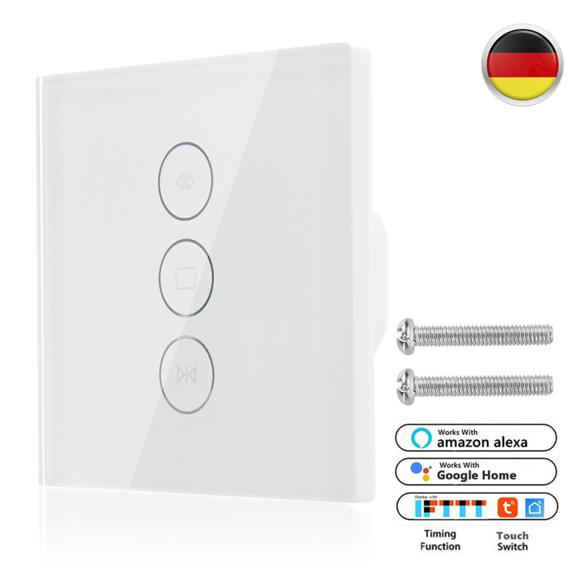 Smart Life WiFi Curtain Switch for Electric Motorized Curtain Blind Roller Shutter For Google Home Amazon Alexa Voice ControlSmart Life WiFi Curtain Switch for Electric Motorized Curtain Blind Roller Shutter For Google Home Amazon Alexa Voice Control