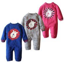 Бесплатная доставка! добавить новый хлопок кашемир утолщенной детские Onesies romper младенца платье для мужчин и женщин