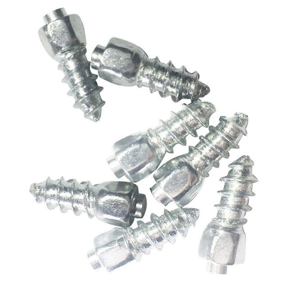 500PCS 12mm metal Tire Studs Spikes for tires Screw studs Screw Snow Wheel Tyres Studs for