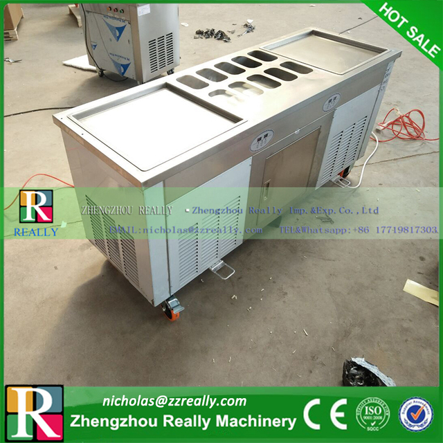 With temperature control and set japan famous compressors thailand with temperature control and set japan famous compressors thailand style fry ice cream machine fried ice ccuart Choice Image