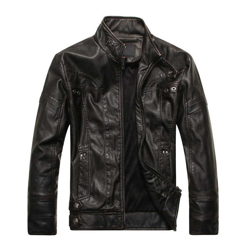 NaranjaSabor-2018-Autumn-Winter-Motorcycle-Leather-Jackets-Men-s-Leather-Coat-Thick-Faux-PU-Jacket-Mens(2)