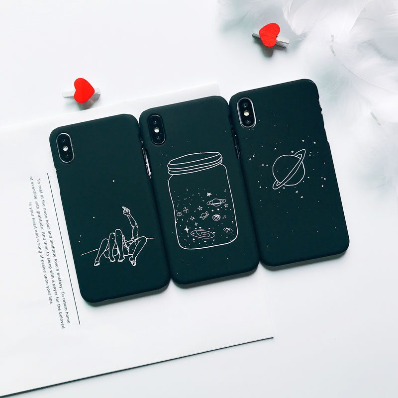 Text - Matte Phone Case For iPhone