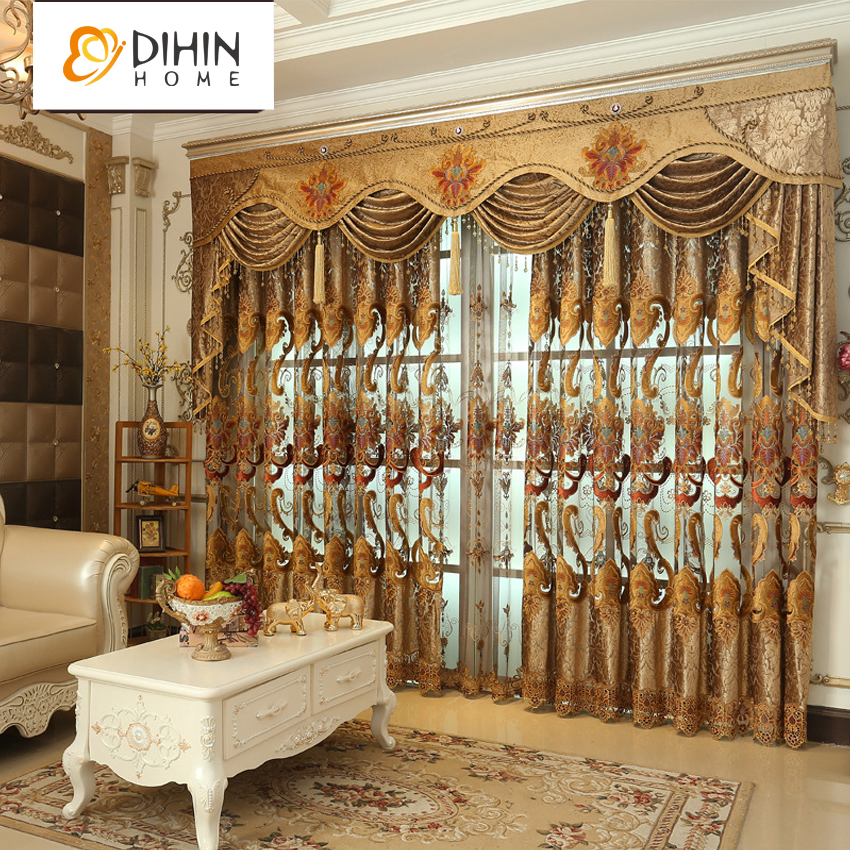 Compare Prices on European Style Curtains for Living Room- Online - luxury curtains for living room