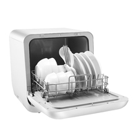 Mini Dishwasher Dryer Household Fully Automatic Kitchen Sterilization Sterilization Drying Suitable for 2 4 People