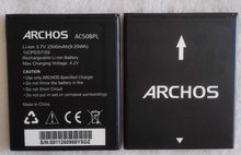 Аккумулятор MLLSE AC50BPL для ARCHOS 50b Platinum 2500 мАч 3,7 в