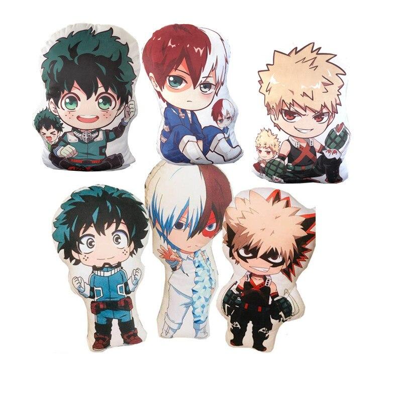 Mein Hero Wissenschaft Anime Boku Keine Hero Yoh Asakura Katsuki Bakugo Shoto Toooroki Puppen & Stofftiere Plüsch Mädchen Weichen geschenk Heißer Verkauf