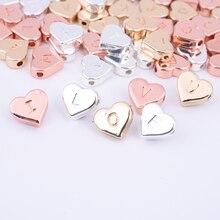 Batch / Set A--Z 26 Letter Pendant Accessories Handmade Charm Necklace Bracelet