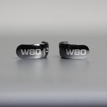 OKCSC ل Westone جديد W80 المعادن صرف فاسبلاتيس مكافحة انفجار سماعة غطاء ل W80 جديد W60 جديد W40 مع معدن المسمار أدوات
