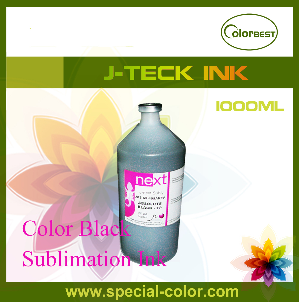 Color Black Italy Dye Sublimation Ink 1000ml J-teck Heat Transfering Ink for Epson DX7 Printhead Printer hisaint 70 ml refill dye ink 6 ink cartridge ink for epson l101 l111 l201 l211 l301 l351 l353 l l551 l558 for espon printer ink