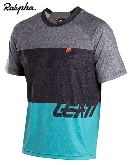 Downhill Jersey Bicycle-Shirt Short-Sleeve Mountain-Bike Maillot LEATT Uniform