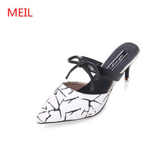 2018 sandals women clear high Heels Summer Pumps leather ladies sandals Shoes Thin Heels luxury shoes women designers sandalias цены