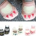 Baby Boy and Girl Calcetín Recién Nacido 0-24 Meses Piso Anti Slip Cortos Calcetines Lindos Del Algodón Calcetín Infantil
