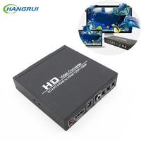 HD Video Converter SCART HDMI a HDMI 720 P/1080 P Digitale Ad Alta definizione Video Converter US Plug Power Adattatore Audio Per HDTV HD