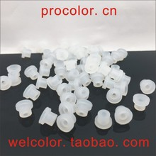 T type Hollow silicone rubber Sealing plug Thick section single hole stopper OD 5.5MM 5.5 7/32 7/32