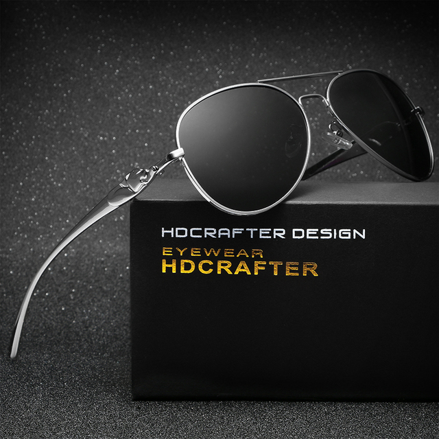 HDCRAFTER Brand New Fashion Women's Sunglasses Vintage Large Sun Glasses Polarized Mirror Ladies Driving Glasses
