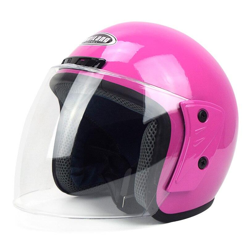 Casque Moto hiver Face ouverte Capacete Cascos Para Moto course Moto Vintage casque Motocross Capacete