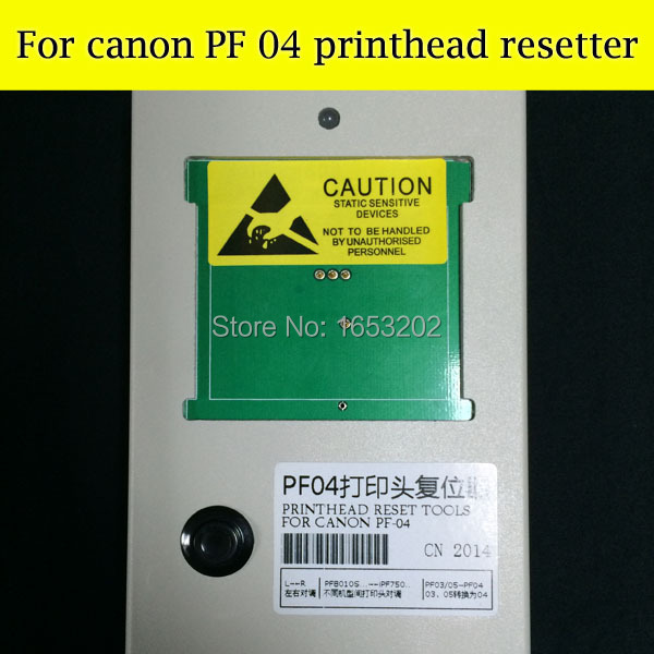 Best Printhead resetter for canon PF04 for canon iPF650 iPF655 iPF750 iPF755  for head canon PF-04 1 pc pf04 printhead resetter for canon ipf650 ipf655 ipf750 ipf755 printer