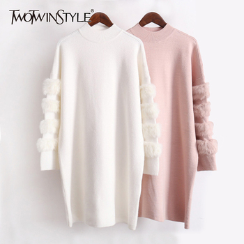 76dd1af0610 H.SA Women WInter Sweater Cardigans Long Knitted Jacket Coat Thick ...