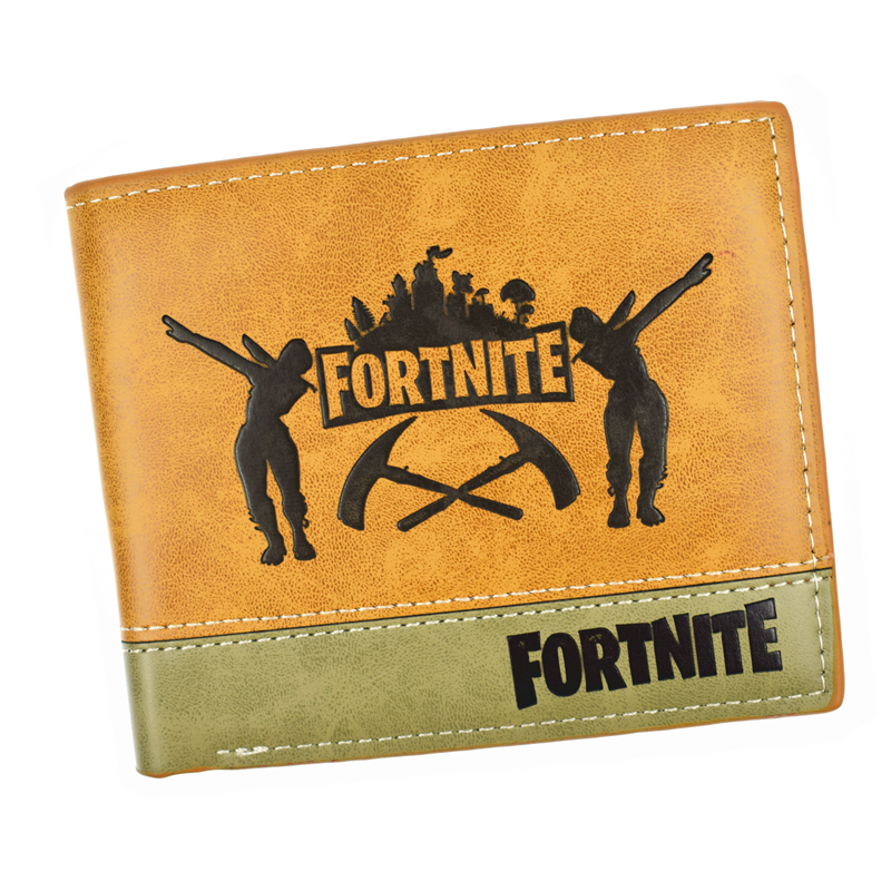 New Design Hot Game Wallet High Quality PU Leather Men's Short Purse With Card Holder 2016 new arriving pu leather short wallet the price is right and grand theft auto new fashion anime cartoon purse cool billfold