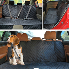 Dog Seat Cover Back 100% Waterproof Nonslip 600D