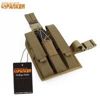 EXCELLENT ELITE SPANKER EDC Outdoor Tactical KRISS MP7 Magazine Pouch Drop Leg Rig Military Molle Equipment