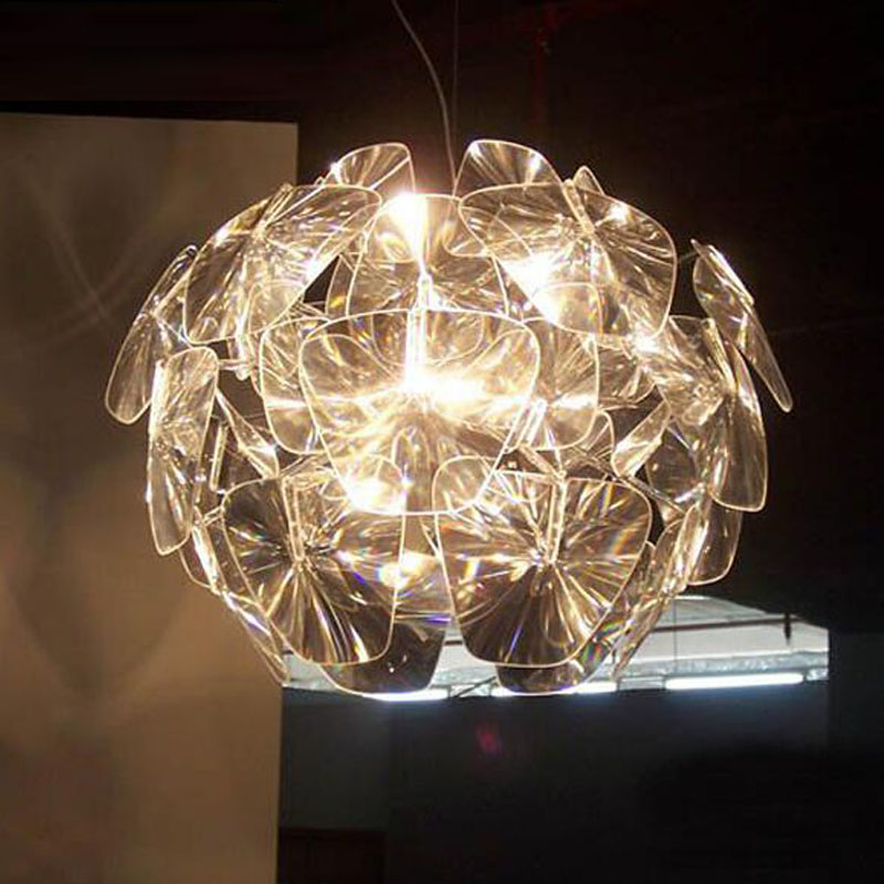 Free-Shipping-modern-pendant-lamp-D650mm-pinecone-clear-acrylic-dinning-lighting-also-ship-for-wholesales-shippment