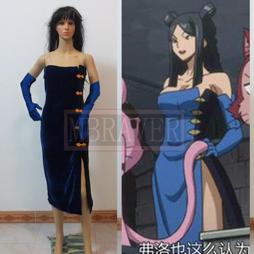 Fairy tail Minerva Orlando font b cosplay b font costume font b Anime b font Custom