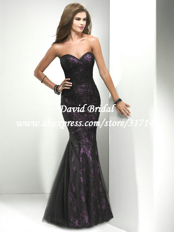 Images of Mermaid Lace Prom Dress - The Fashions Of Paradise