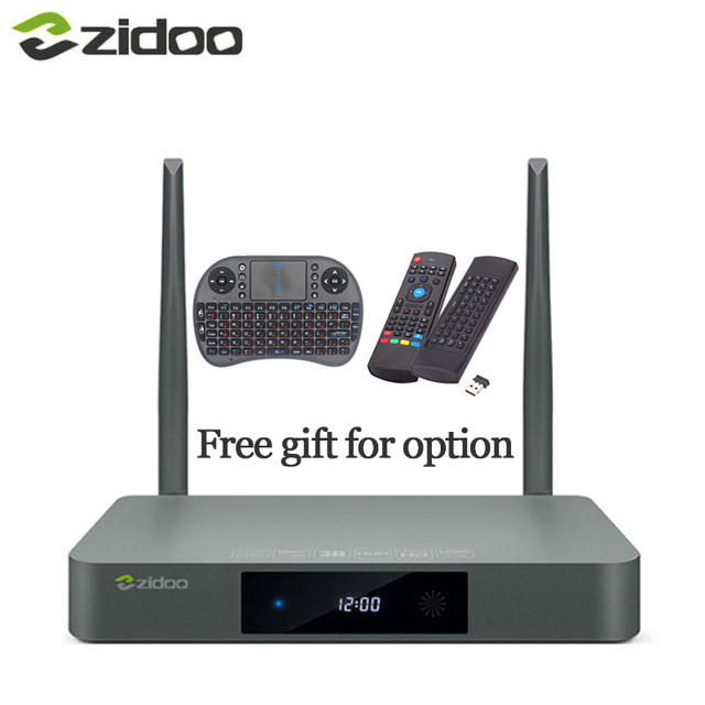 Zidoo X9S Free Airmouse or Keyboard HDMI TV BOX Android 6.0 16G with US EU Russia Aisa IPTV Movie Pre-install kodi build addon