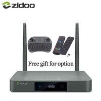 X9S Zidoo Airmouse o Teclado HDMI CUADRO de TV Android 6.0 16G con Rusia EE. UU. UE Aisa IPTV Película Pre-instalar kodi construir addon