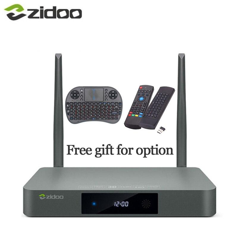 Zidoo X9 Airmouse oder Tastatur HDMI TV BOX Android 6.0 16G mit US EU Russland Aisa IPTV Film Vor-installieren kodi bauen addon