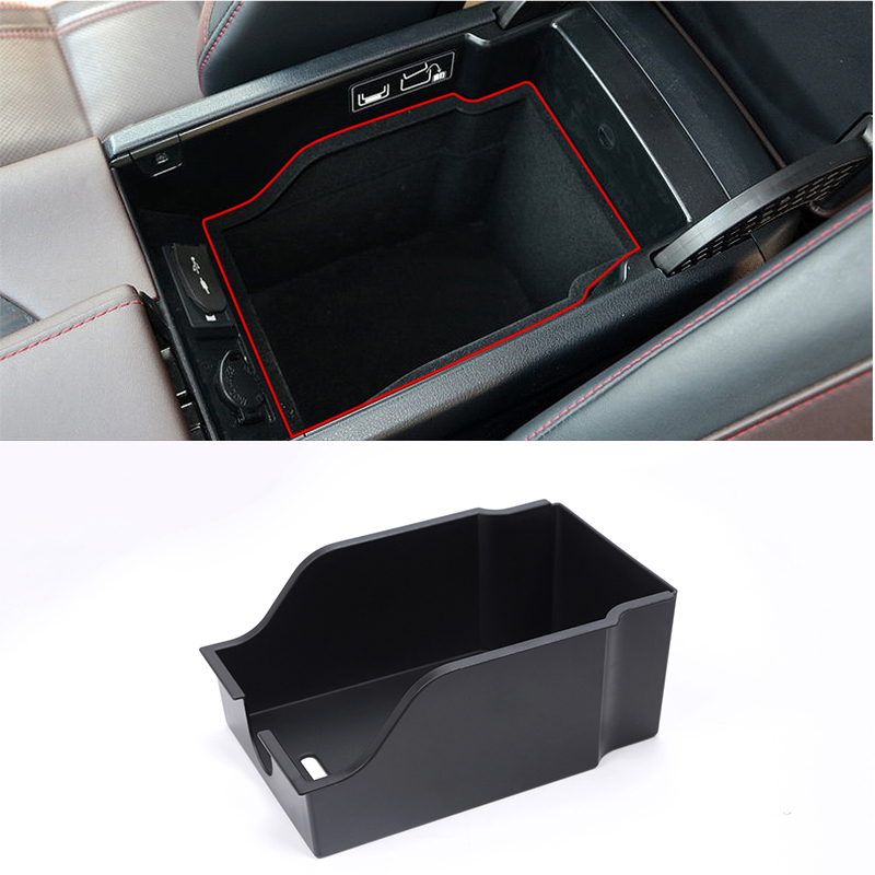 For <font><b>Lexus</b></font> <font><b>RX200t</b></font> RX400h 2016 Car Stylling Armrest storage phone container holder Tray Box Car Organizer Accessories image