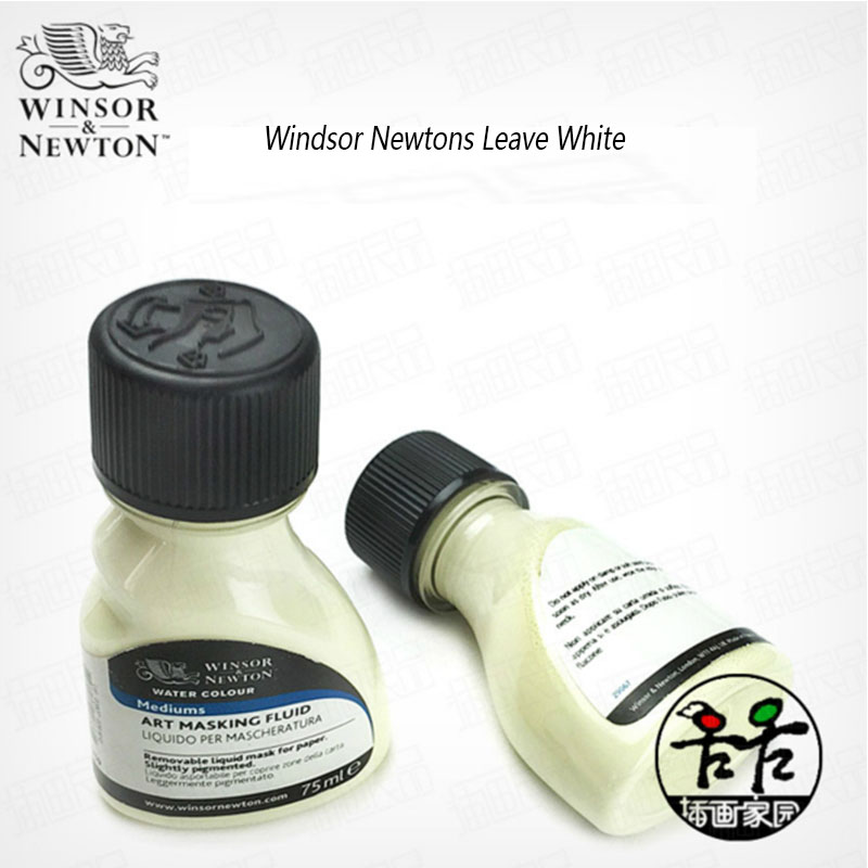 Winsor & Newton Water Color Media Watercolor White Liquid Art Masking Fluid Glue Pigment Covering Liquid Blocking Liquid