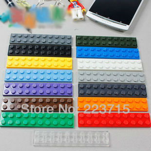 Free Shipping!3832 50pcs*Plate <font><b>2x10</b></font>* DIY enlighten block bricks,Compatible With Assembles Particles image