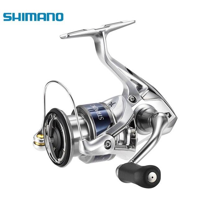 SHIMANO STRADIC FK Original 1000HG 2500HG C3000HG 4000XG C5000XG Spinning X-SHIP  6+1BB Spinning Fishing Saltwater Reel