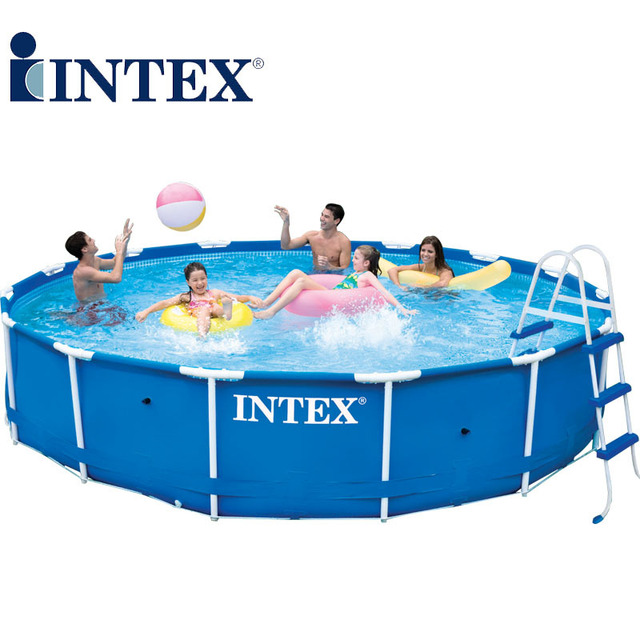 Mobile Pool genuine intex rack foldable mobile home swimming pools for adults