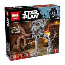 Новый ЛЕПИН 05066 Звездных Войн серии AT-ST Уолкер Модель Building Blocks набор классический Совместимость 75153 Игрушки для детей