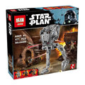 Nueva LEPIN 05066 serie de Star Wars El AT-ST Walker Modelo Building Blocks set classic Compatible 75153 Juguetes para los niños