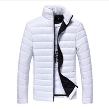 Winter And Man S Coat NewBrand Design Of Pure Color Warm Men Cotton Padded Thick Size M -Xxxl