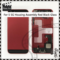 AAA High Quality For Iphone 5 5G 5S Back Middle Frame Chassis Full Housing Assembly Battery