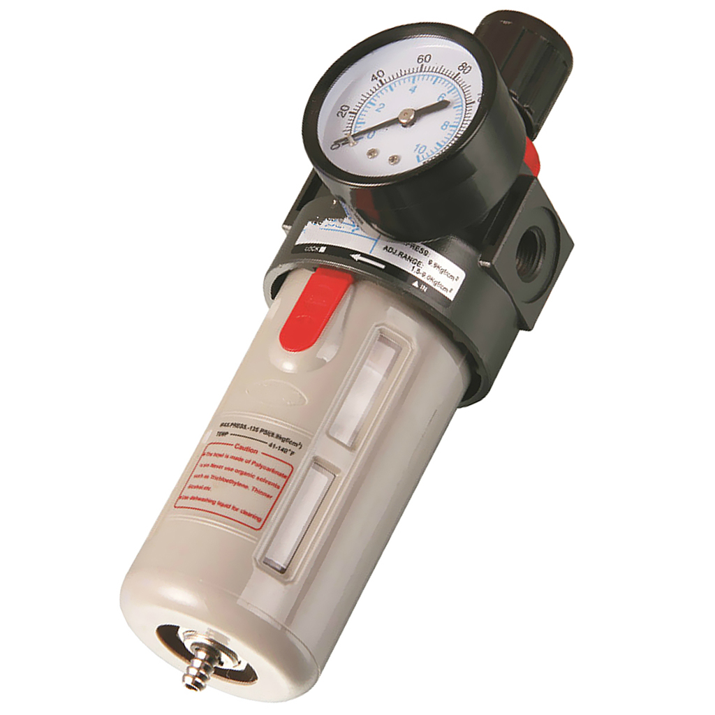 <font><b>BFR3000</b></font> Air Filter Pressure Regulator Airbrush Compressor Air Moisture Trap image