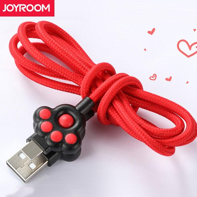 Joyroom Cavo Micro USB Per Xiaomi Samsung 1 m Carica Veloce Cavo Dati USB Android Micro USB di Ricarica Cavo Del Telefono Mobile cavi