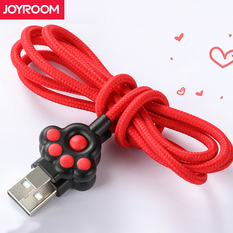 Joyroom Micro USB Cable For Xiaomi Samsung 1m Fast Charge USB Data Cable Android Micro USB Charging Cable Mobile Phone Cables