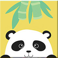 Cute Animals for Kids Paint By Numbers for Kids Alca Cartel