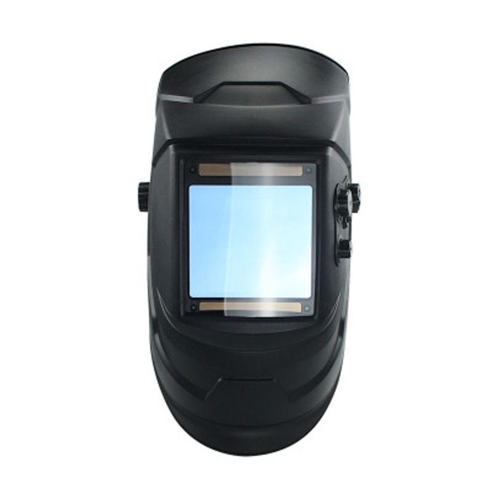1PC Big View 4 Arc Sensor DIN5 DIN13 Solar Auto Darkening Welding Mask Helmet Welder Cap