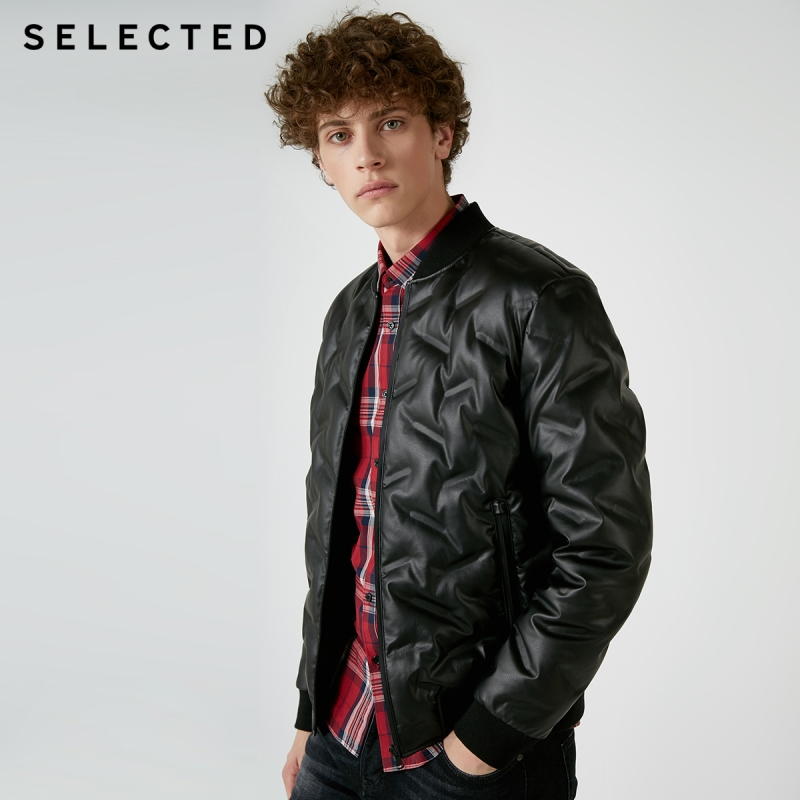 SELECTED Winter Down Jacket New Men's Warm Business Leisure  Clothes Short Down Coat Suit S | 418412556